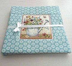 Úžitkový textil - Antique Garden v modrej 4 - 8641145_