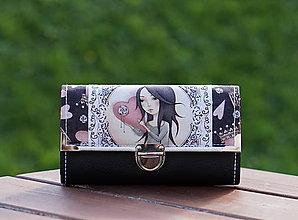 Peňaženky - Peněženka Mirabelka 03, 12 karet, 2 měny - 8641196_