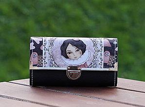 Peňaženky - Peněženka Mirabelka, 12 karet, 2 měny - 8641207_