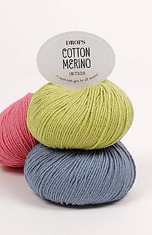 Galantéria - Priadza DROPS Cotton Merino - 8642851_