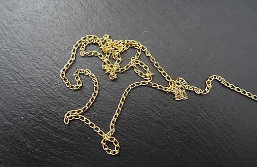 40a338216 Retiazka f. zlatá / NIOLI - SAShE.sk - Handmade Komponenty