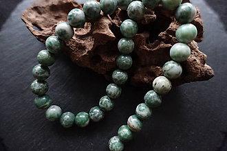 Minerály - Jadeit zelený I 10mm - 8643372_