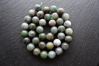 Minerály - Jadeit africký 10mm - 8643763_