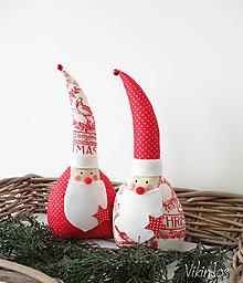 Dekorácie - Miki mikuláš vianočný - 8642139_