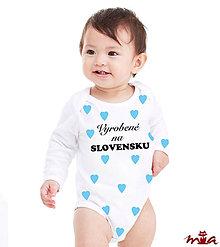 Detské oblečenie - Vyrobené na Slovensku - chlapčenské - 8640660_