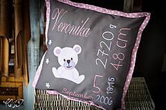 """Úžitkový textil - Vankúšik """"Veronika"""" - 8646584_"""
