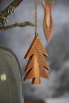 Dekorácie - Ostrý stromček (Šedá) - 8645663_