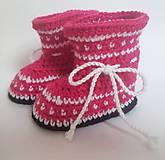 Topánočky - Lesklé čižmičky - 8645132_