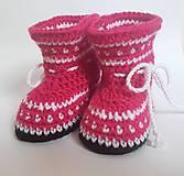 Topánočky - Lesklé čižmičky - 8645133_