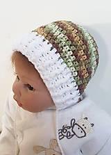 Detské čiapky - Maskáčová čiapočka - 8645207_