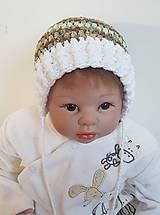 Detské čiapky - Maskáčová čiapočka - 8645217_