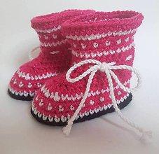 Detské topánky - Lesklé čižmičky - 8645132_