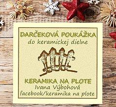 Darčekové poukážky - Darčeková poukážka - 8646636_