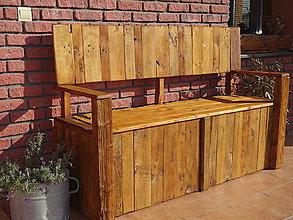 Nábytok - Záhradná lavica - 8646760_