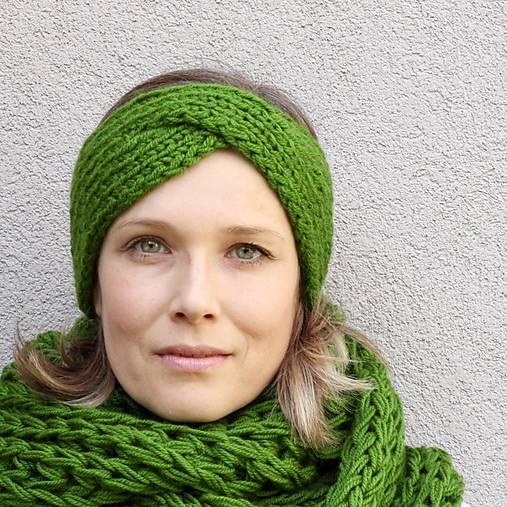 turbančelen najsamkrajšia zelená