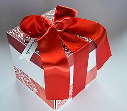 Papiernictvo - Maxi darčeková krabička-exploding box - 8647619_
