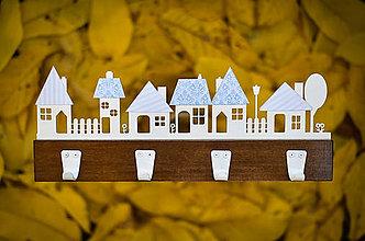 Nábytok - Vešiak - drevený - 8646990_
