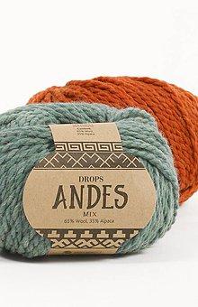 Galantéria - Priadza DROPS Andes - 8644723_