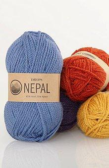 Galantéria - Priadza DROPS Nepal - 8644795_
