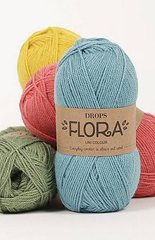 Galantéria - Priadza DROPS Flora (MIX) - 8644841_