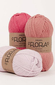 Galantéria - Priadza DROPS Flora - 8644854_