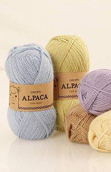 Galantéria - Priadza DROPS Alpaca - 8644963_