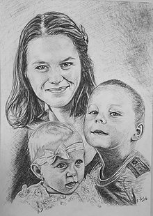 Kresby - s mamičkou... :-) - 8645772_