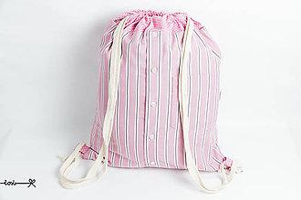 Batohy - Vak Košelák - ružovučký - 8647560_