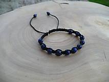 - shamballa náramok s Lapis Lazuli - 8646041_