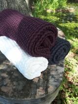 - Ľanový uterák Natural (Biela) - 8646865_