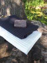 - Ľanová osuška a uterák Natural White/Gris - 8647106_