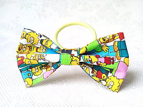 Ozdoby do vlasov - Simpsons hair bow - 8649421_