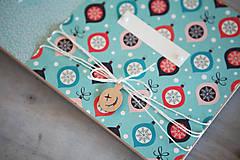 Papiernictvo - Moje prvé Vianoce / fotoalbum - 8650178_