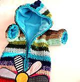 Detské oblečenie - Pestrý fusak s mäkkou podšívkou - 8649604_