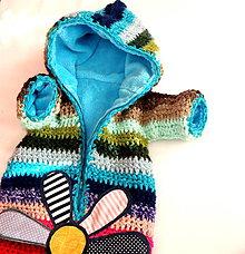Detské oblečenie - NA Zákazku 4 týždne - Pestrý fusak s mäkkou podšívkou - 8649604_