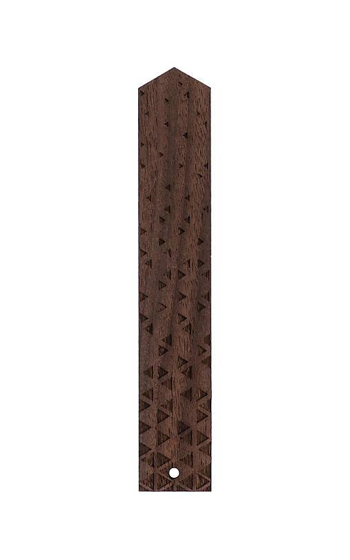 Drevená záložka - orech