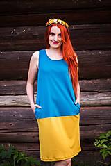 Šaty - Dvojfarebné šaty - 8649104_