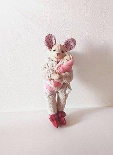 Hračky - Myška Yvette - 8648797_