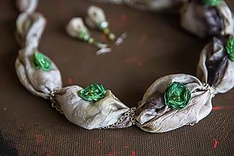 Sady šperkov - Hodvábny set Romantic - 8456543_
