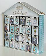 - Pastelkové Vianoce adventný kalendár - 8649872_