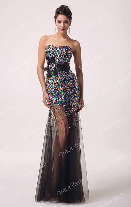 ac04c06b6938 Čierne spoločenské šaty