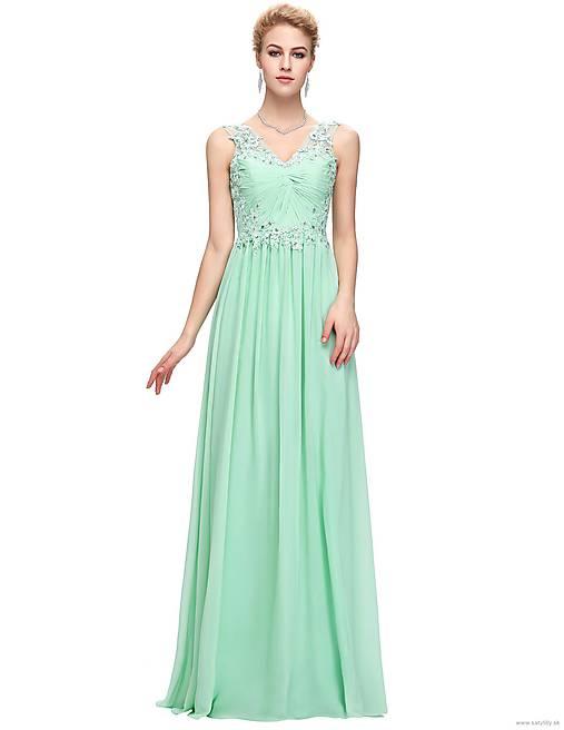 539cf79b4ba5 Tyrkysové spoločenské šaty