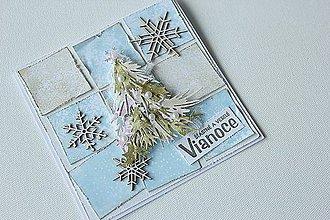 Papiernictvo - Vianočná pohľadnica - 8649476_