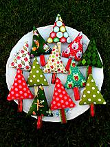 - Veselé stromčeky, ... vianočná ozdoba - 8650047_