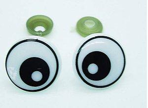 Galantéria - Bezpečnostné očká veľké 28mm - 8650984_