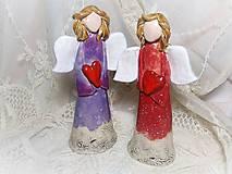 Dekorácie - anjeli.. - 8651185_