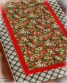 Úžitkový textil - vianočný obrus - 8648230_
