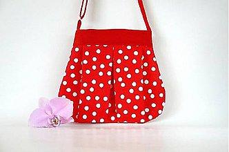 Detské tašky - Bodková kabelka - 8648955_