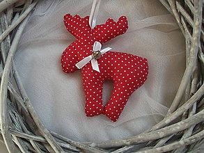 Dekorácie - Vianočné sobíky - 8650501_