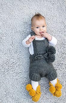 Detské oblečenie - Vintage overal nielen na fotenie - 8655636_